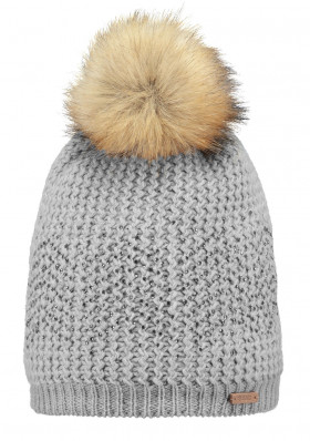 Barts Marceline Beanie heather grey